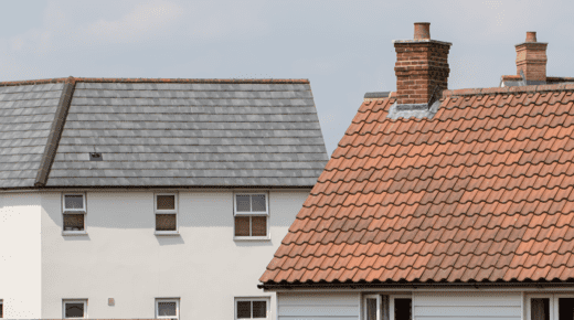 Dachsanierung: zwei alte Dächer