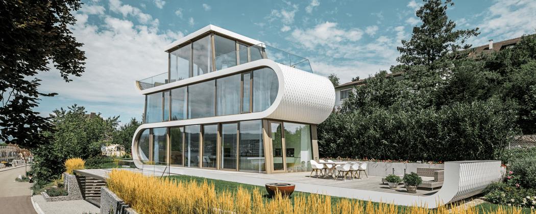 Das Flexhouse am Zürichsee