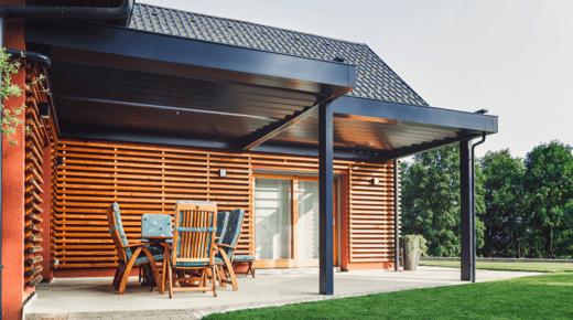 Favorit Terrassenüberdachung: Oft ist eine Baugenehmigung erforderlich AL05