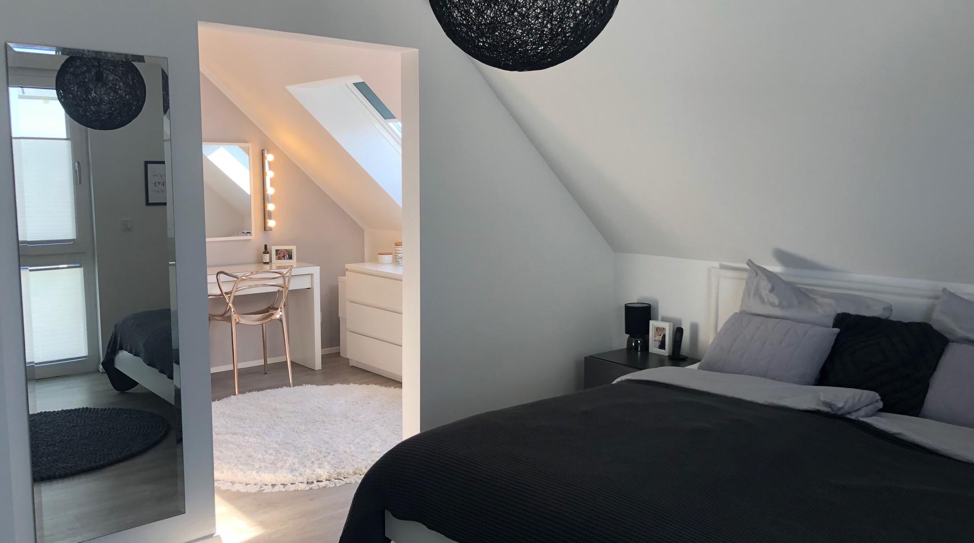Dachstory fox.living: Das Schlafzimmer