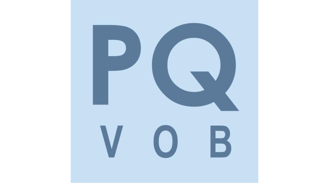 Dachdecker suchen und finden: das Präqualifizierungs-Logo PQ VOB
