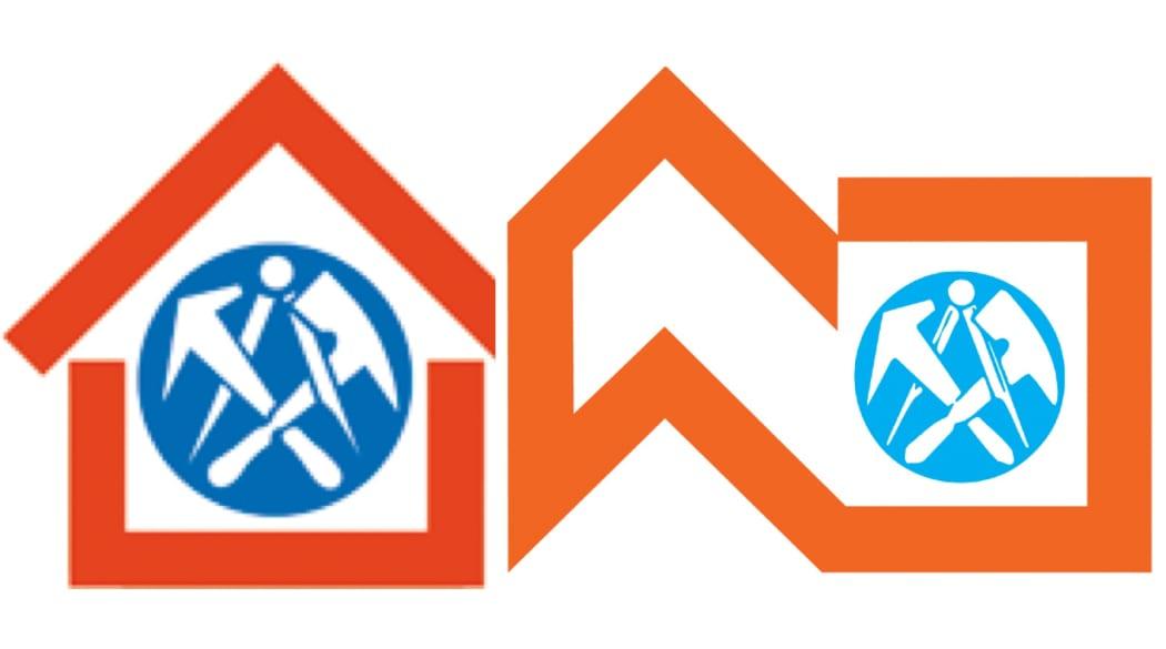 Dachdecker suchen und finden: Logo der Dachdeckerinnung Oldenburg und Logo des ZVDH