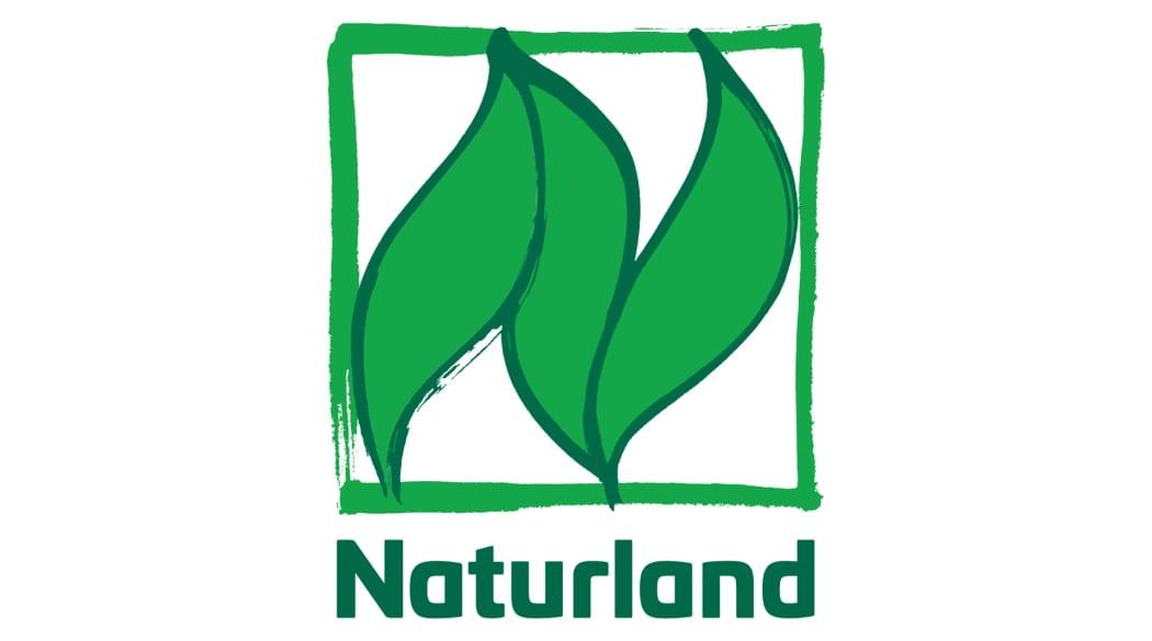 Holz für den Dachstuhl: das Naturland-Logo
