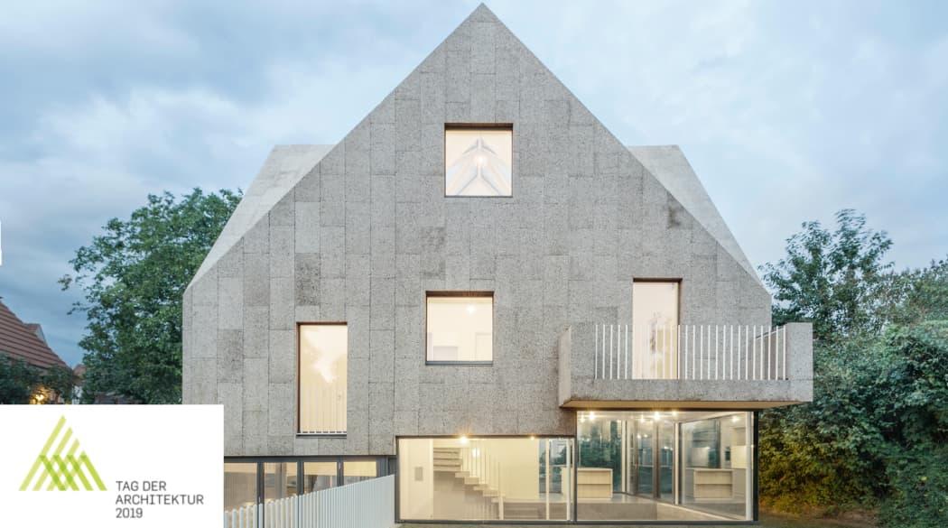 Baumessen: Das Korkenzieher-Haus war eines der Ausstellungsobjekte beim Tag der Architektur 2019
