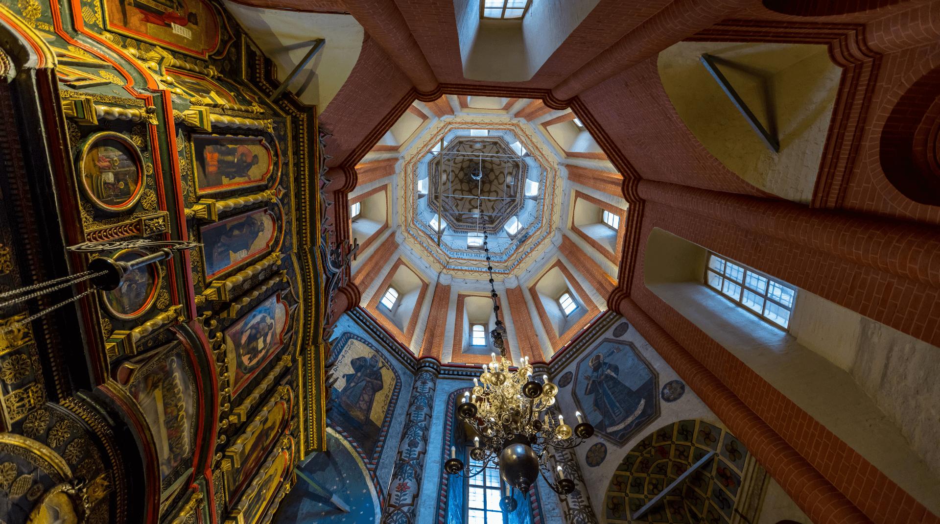 Kuppel der Basilius Kathedrale in Moskau