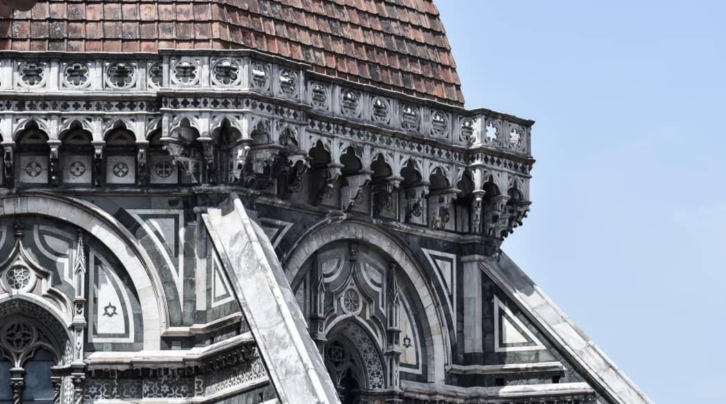 Detailaufnahme Kathedrale von Florenz