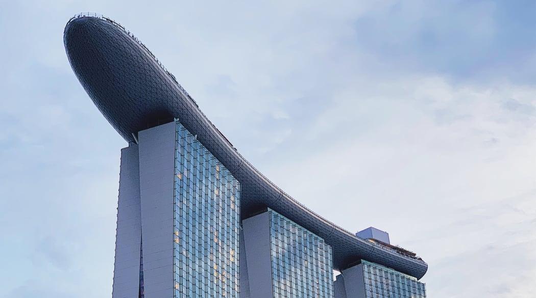 Besondere Dächer: Marina Bay Sands