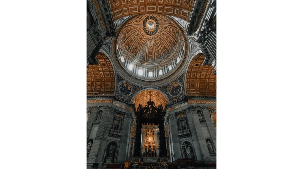 Petersdom in Rom von innen