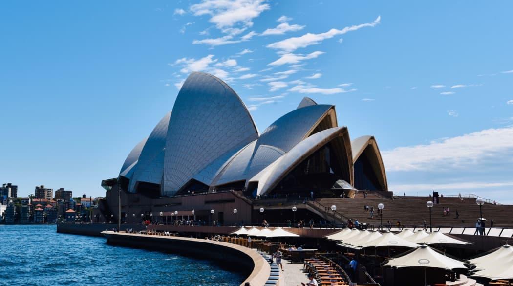 Oper in Sydney bei Tag