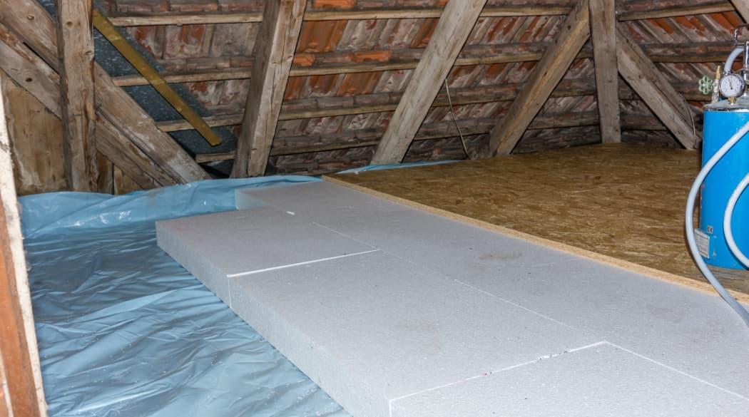 Dachboden Dämmung