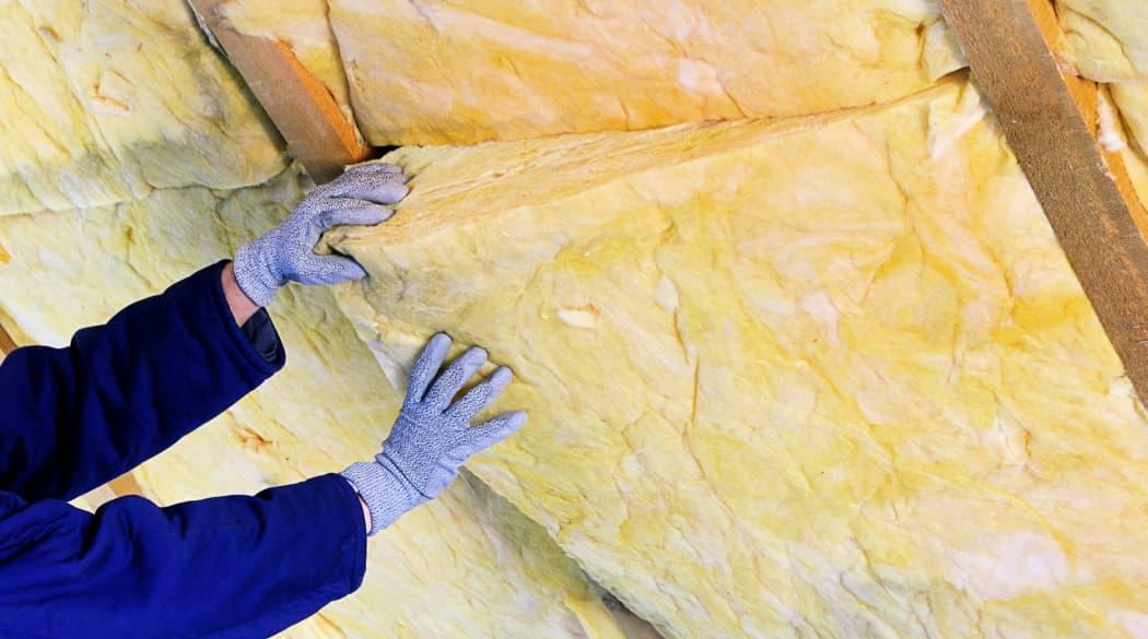 Dachdämmung mit Mineralwolle