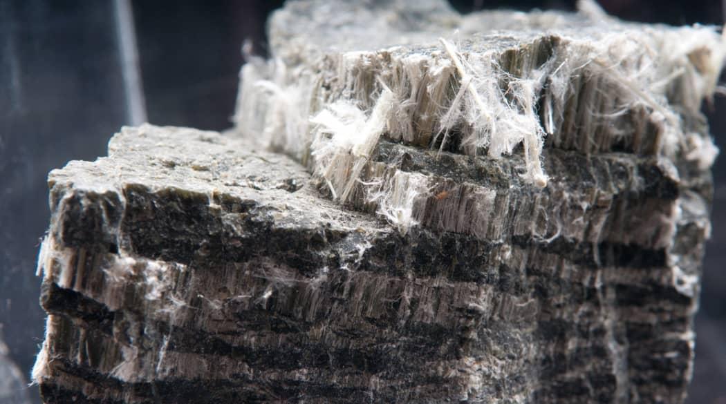 Asbest Nahaufnahme
