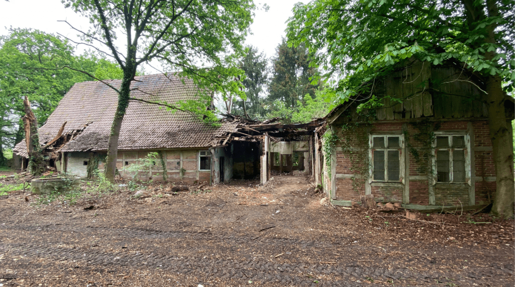 Resthof Talge: Eingangsbereich